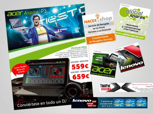 publicidad digital: banners, newsletters